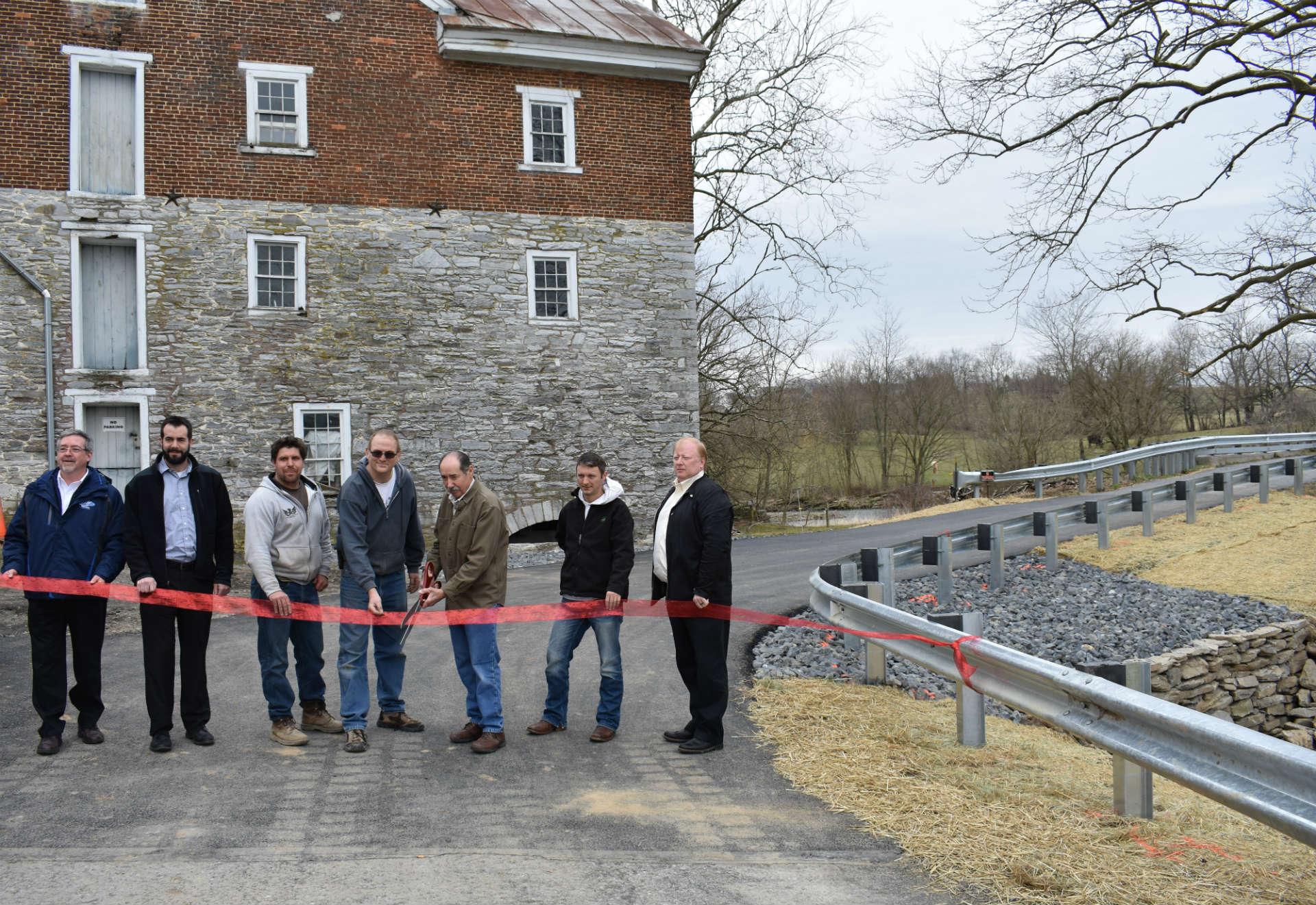 McCarthy Engineering Performs Emergency Road Repair Near Historic Mill