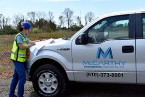 McCarthy Engineering's Spring 2020 Intern Tim Arcuri